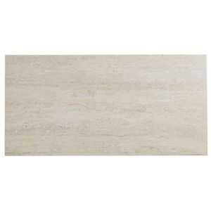 View Natura Natural Glazed Porcelain Wall & Floor Tile, Pack of 6, (L)300mm (W)600mm details