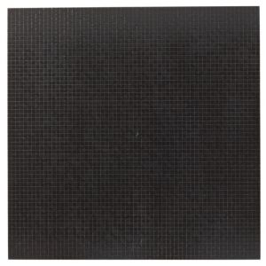 View Soho Anthracite Chequered Ceramic Floor Tile, Pack of 3, (L)600mm (W)600mm details