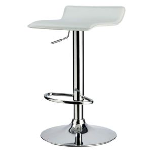 View Cooke & Lewis Dante White Bar Stool (H) 870 mm (W) 410 mm details