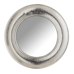 View Colours Nickel Effect Circular Mirror details