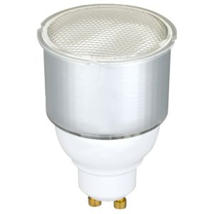 View Diall GU10 7W Fluorescent Spot Light Bulb details
