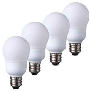 View Diall Edison Screw Cap (E27) 13W Fluorescent GLS Light Bulb, Pack of 4 details