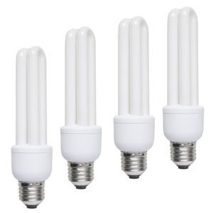 View Diall Edison Screw Cap (E27) 15W Fluorescent Stick Light Bulb, Pack of 4 details