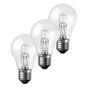 View Diall Edison Screw Cap (E27) 42W Halogen Eco GLS Light Bulb, Pack of 3 details