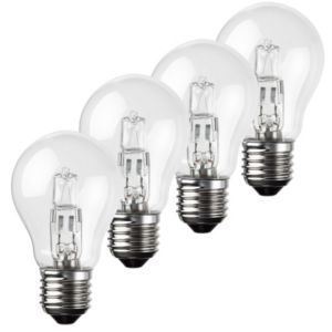 View Diall Edison Screw Cap (E27) 42W Halogen Eco GLS Light Bulb, Pack of 4 details