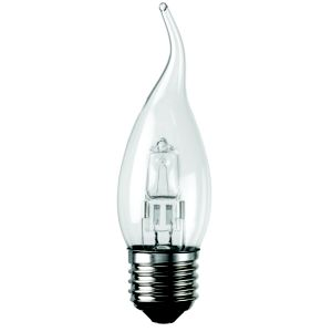 View Diall ES(E27) Candle Bent Tip Halogen Bulb 370lm details