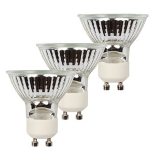 View Diall GU10 28W Halogen Eco Reflector Spot Light Bulb, Pack of 3 details