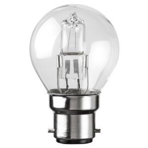 View Diall Bayonet Cap (B22) 42W Halogen Eco Round Light Bulb details