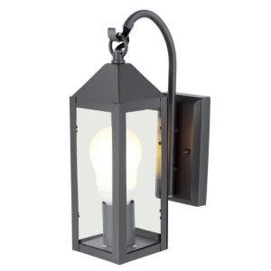 View Blooma Capella Charcoal Grey External PIR Lantern details