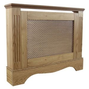 View Small Oak Effect Berkshire Radiator Cover details