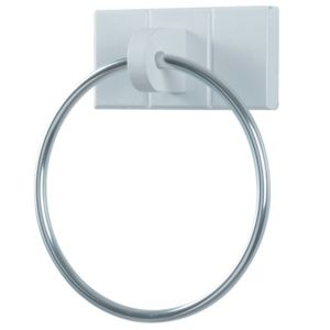 View Cooke & Lewis Adelite Chrome Effect 140mm Towel Ring details