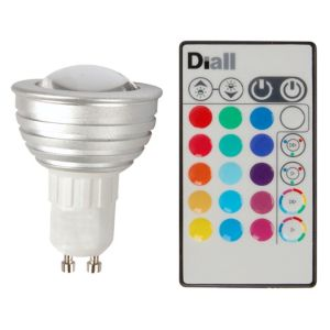 View Diall GU10 3W Spot LED Light Bulb details