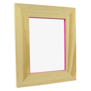 View Pink Pine Effect Wood Picture Frame (H) 250mm x (W)200mm details