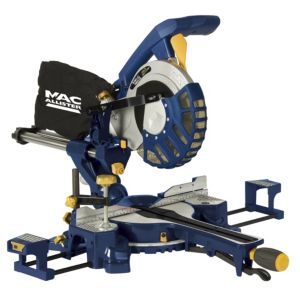 View Mac Allister 1300W 210mm Sliding Mitre Saw MMS210SL details