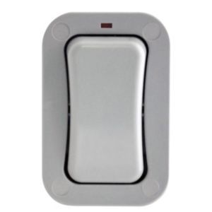 View Diall 1-Gang 2-Way 20A Exterior Single Outdoor Switch details