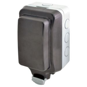 View Diall Grey Unswitched Socket details