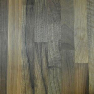 View 40mm Cooke & Lewis Walnut Solid Wood Square Edge Kitchen Worktop details