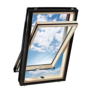 View Luna Pine Centre Pivot Roof Window (H)980mm (W)540mm details