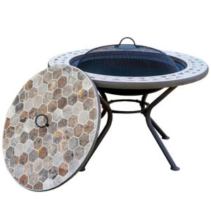 View Blooma Silene Metal Firepit Table details