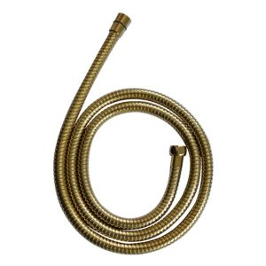 View Cooke & Lewis Gold Effect Brass Shower Hose 1.75m details