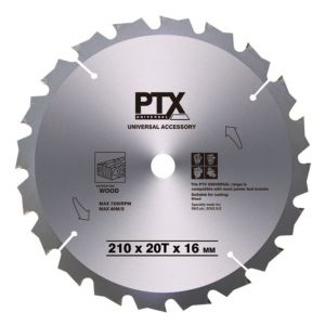 View PTX Mitre Saw Blade (D)210 Of 1 details