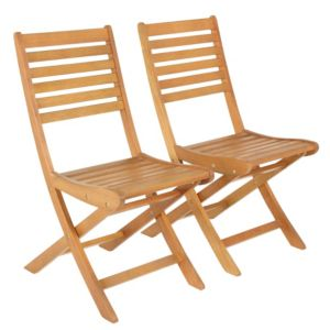 View Aland Wooden Dining Chair, Pack of 2 details