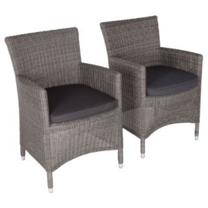 View Comoro Rattan Effect Dining Chair, Pack of 2 details