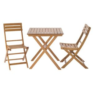 View Worcester Wooden 2 Seater Bistro Set details