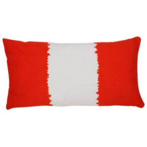 View Alicudi Dip Dye Orange & White Cushion details