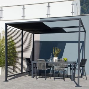 View Blooma Moorea Metal Gazebo - Assembly Required details