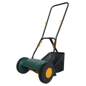 View B&Q Lightweight Hand Push Lawnmower 300mm details