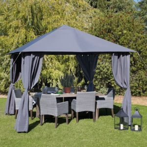View Blooma Shamal Metal Gazebo - Assembly Required details