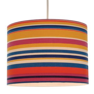 View Colours Cuanza Multicolour Light Shade (D)28cm details
