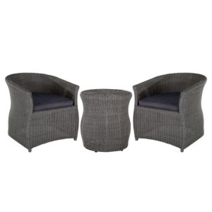View Comoro Rattan Effect 2 Seater Bistro Set details