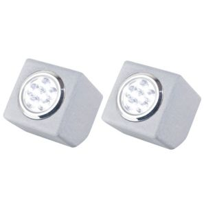 View Blooma Rana White LED Ground Light, Pack of 2 details