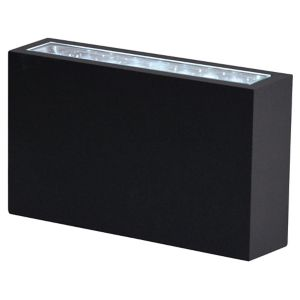 View Blooma Luyten Black LED Exterior Wall Light details