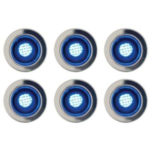 View Blooma Absolus Blue LED Deck Lighting Extension Kit, Pack of 6 details
