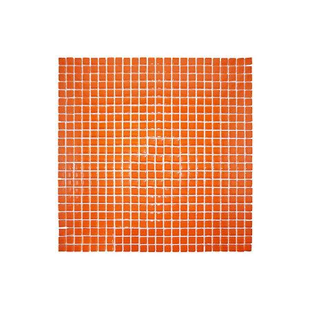 orange glass mosaic tile l 300mm w 300mm departments. Black Bedroom Furniture Sets. Home Design Ideas
