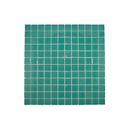 scarab glass mosaic tile l 300mm w 300mm departments. Black Bedroom Furniture Sets. Home Design Ideas