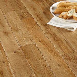 View Colours Symphoina Solid Oak Flooring 1.3m² Pack details