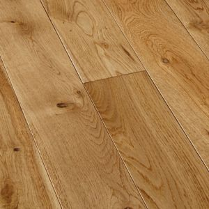 View Colours Symphonia Natural Solid Oak Flooring 1.3 m² Pack details
