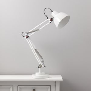 View Isaac White Desk Lamp details