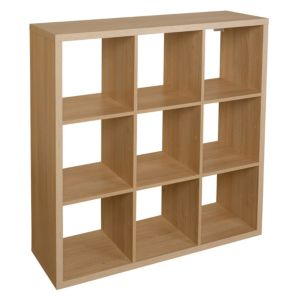 View Form Mixxit Oak Effect Cube Shelving (D)330mm details