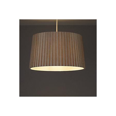 Colours aubree mushroom box pleat light shade d 340mm for B q bedroom lighting