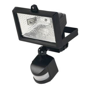 View Mains Powered 120W Halogen PIR Floodlight details