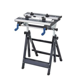 View Mac Allister 600 mm Steel 100 kg Vice Jaw Clamp Workbench details