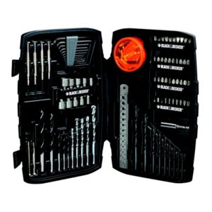 black and decker drill bit set how to open