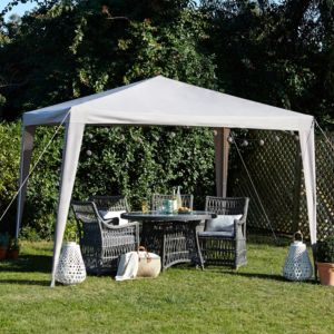View Blooma Jarvis Metal & Fabric Gazebo - Assembly Required details