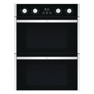 Cooke & Lewis DIOV108CL Black Eye Level Double Oven