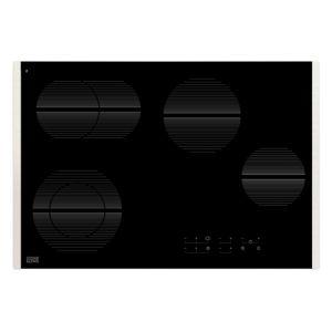 Cooke & Lewis CLCDZ77 4 Burner Black Glass Electric Ceramic Hob